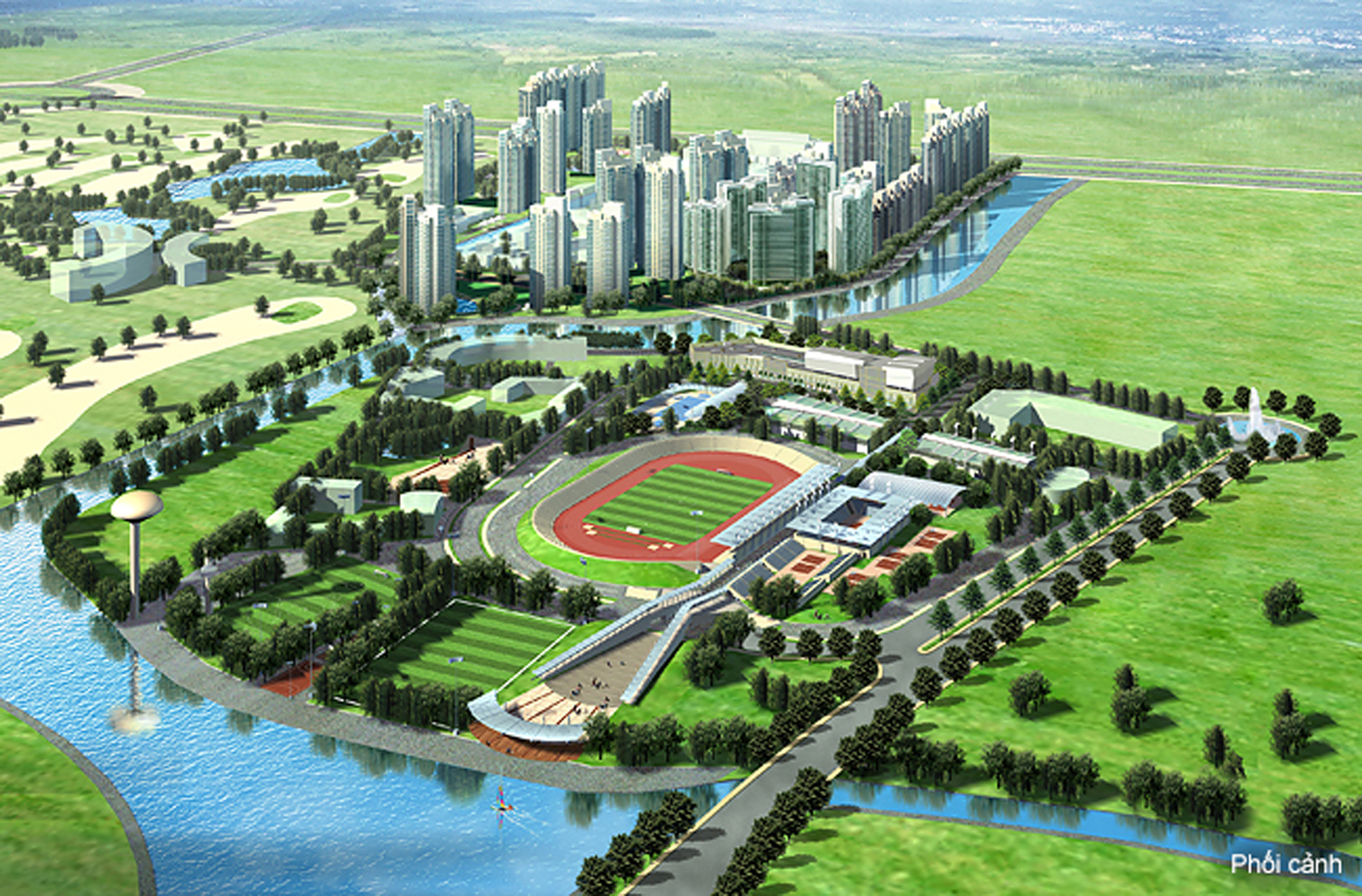tong quan du an saigon sports city quan 2