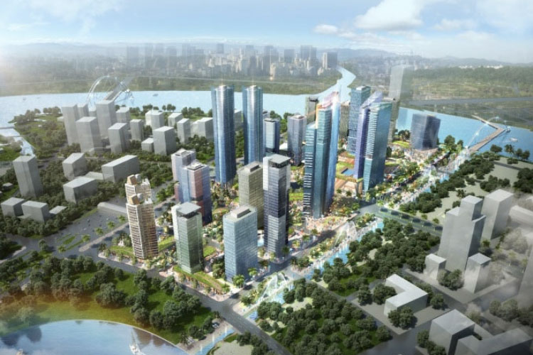eco smart city quy mo dang cap